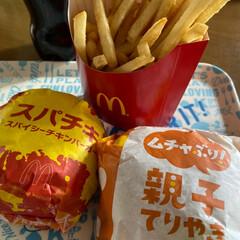 ポテト/ハンバーガー/マクドナルド/マック 昼から食べ過ぎました…😅