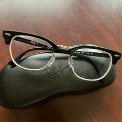 レイバン/メガネ 四段階も視力が下がってました…😓