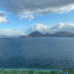 朝風呂/洞爺湖/温泉 おはようございます☀ 今日も良い天気だぁ…