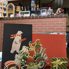 嬉しい/クリスマスカード/クリスマス2019 クリスマスカードが届いたよ📩 なんか嬉し…