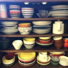 食器棚/食器棚収納/iittala/ARABIA/北欧食器/片づけ暮らし方コンサルタント 我が家の食器棚です。 最近、と言うかここ…