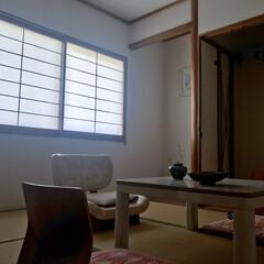おしゃれ/和モダン/和モダンデザイン/お洒落/IKEA/和室/... ちょっと侘び寂びを感じる様な空間を作って…