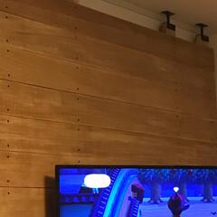 DIY/DIY収納 ラブリコ 2×4 壁掛けTV 簡単に設置…
