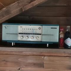 レトロ/カフェ風/アンティーク/北欧 先程ネットで購入したレトロラジオとコーヒ…(2枚目)