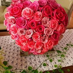 プリザーブドフラワー講師/企業内整理収納マネージャー/ルームスタイリスト/整理収納アドバイザー ピンクが大好きな花嫁様からのオーダーブラ…