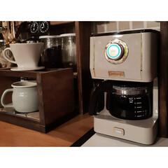 カフェスペース/背面収納/ペンダントライト/DeLonghi/TOFFY/トースター/... 最近の我が家のカフェスペース☆  コーヒ…(3枚目)
