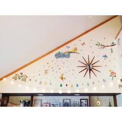 しずく型/rainbow/レインボー/ボールライト/暮らしを楽しむ/colorful/... 壁のデコレーション☆ ウォールステッカー…