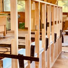 インテリア/家具/家具職人/DIY収納/収納/雑貨/... 【家具職人の日常】 現在クリニックの受付…