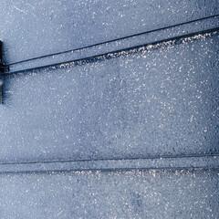 雪/あられ/雨/寒い おはようございます٩(*´꒳`*)۶  …(2枚目)