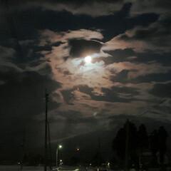 冬の夜/感謝/横手のかまくら/満月 寒い一日も終了 いつもご覧いただき 励ま…