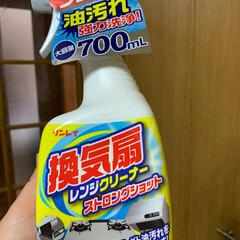 リンレイ リンレイ 換気扇レンジクリーナー ストロングショット 700ml(台所用洗剤)を使ったクチコミ「油汚れに欠かせない洗剤です さっ書類作成…」