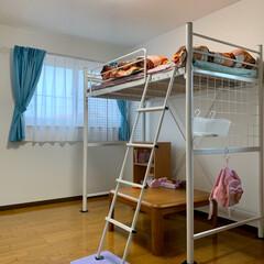 フラット35/エイハウス/子供部屋/住まい/暮らし/水色 オーナー様宅訪問 スゴいのあるから来てと…