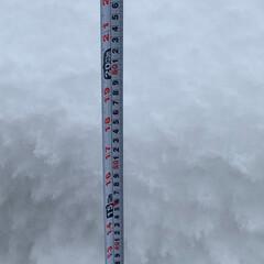 エイハウス/雪国秋田/安くていい暮らす家 秋田県湯沢市は平地で73センチ 屋根上6…