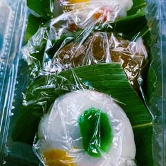 おひなさま/和菓子/いただきもの/手作りおやつ 地元の大先輩から お雛様近いから 和菓子…