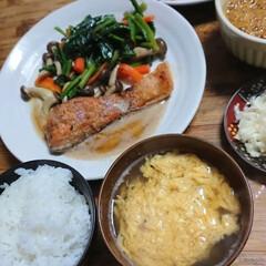 ごはん/おうちごはん 今夜の夕飯です❗ 娘の次回の調理実習の予…