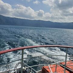 遊覧船/十和田湖 十和田湖遊覧船✧*。