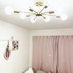 Amazon/lingkai/おしゃれ照明/オシャレ/照明器具/おしゃれ/... Amazonで一目惚れ。 これだけで部屋…(1枚目)