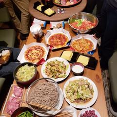 パーティー/盛り上がりました/おいしい/楽しかった/食事情 この前に大学の友達とうちでパーティーしま…