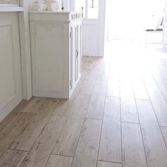 DIY/床材/フロアタイル/シャビーシック/フレンチシック/簡単/... 床の修理って、こんなに簡単♪~賃貸編~