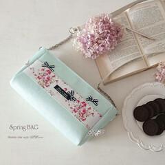 革/バッグ/シャビーシック/パステルカラー/春/ショルダー/... Spring Leather bag