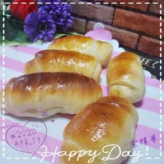 楽しい時間/LIMIAごはんクラブ/おうちパン/おうちごはん/ロールパン/パン作り大好き/... 今日も素敵な一日になりますように(♥Ü♥…
