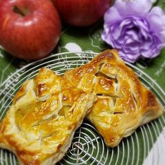 )日本製粉 パイシート4枚入り 400g(冷凍パイシート)を使ったクチコミ「久しぶりに…  アップルパイを焼きました…」(1枚目)