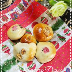 ホームベーカリー/桜の花/手作りパン/パン作り大好き/あんぱん/リミアな暮らし/... 今日も素敵な一日になりますように(♥Ü♥…
