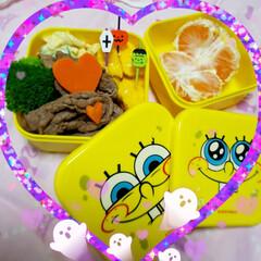昼食/ランチ/女子高生のお弁当/今日のお弁当/お弁当のおかず/娘のお弁当 1週間ぶりに娘のお弁当作り❣️  ⸜❤︎…