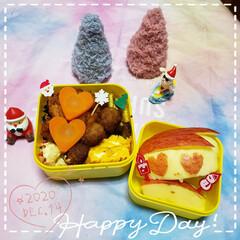 JKのお弁当/女子高生のお弁当/クリスマス雑貨/クリスマスピック/お弁当のおかず/娘のお弁当/... 今日も素敵な一日になりますように(♥Ü♥…(1枚目)