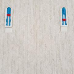 テサ パワーストリップ 高さ調節キャンバスフック   テサ  (ウォールフック)を使ったクチコミ「遅くなってしまい… すみません🙇♀️💦…」(3枚目)