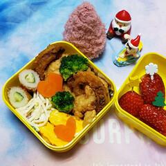 月曜日はダルい/今週も頑張ろう/JKお弁当/女子高生のお弁当/お昼ごはん/ランチ/... 今週のお弁当作り始まり🍱🍴  🈷のお弁当…