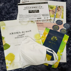 アロマdeマスク | AROMA de mask(アロマグッズ)を使ったクチコミ「LIMIAのモニターキャンペーン 『アロ…」
