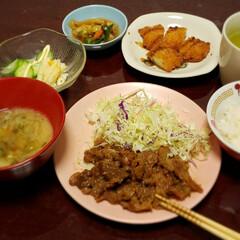 夕食/買い出し/簡単/肉料理/おでかけ/フォロー大歓迎 バタバタしながら 買い出しへ  夕食時間…