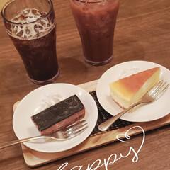 美味しかった/ごちそうさまでした/sweets/スイーツ/甘いもの大好き/おやつタイム/... 休日のおやつTime💞  ⸜❤︎⸝チー…