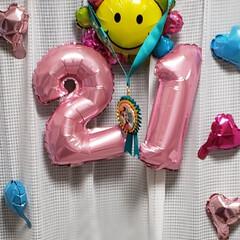 飾り付け/ディズニー好き/誕生日祝い/誕生日を祝う/思いやり/姉妹/... 長女の誕生日に 次女が お姉ちゃんの為に…(3枚目)
