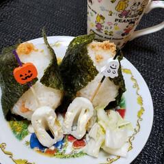 娘の朝食/初投稿/onigiriAction/おにぎりアクション/おにぎり/朝食/... おにぎりアクション と言う企画を初めて知…(1枚目)