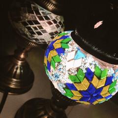 リビングに絶対あるインテリア/インテリア/ランプ/リビングあるある 我が家のリビングにはお洒落な手作りランプ…