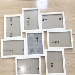 IKEA 七五三の写真をIKEAのフォトフレーム、…(3枚目)