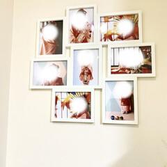 IKEA 七五三の写真をIKEAのフォトフレーム、…