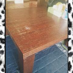 我が家のテーブル #我が家のテーブル