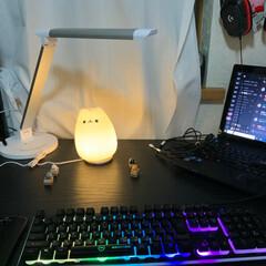 我が家のテーブル これは自分の部屋の机です!猫が好きなので…(1枚目)