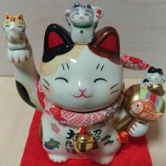 記念日/プレゼント/招き猫/猫/おでかけ/雑貨/... 記念日やプレゼントイベント嫌いな パート…