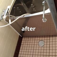 水漏れ/お風呂/二階/住まい/リフォーム/建築 本日 二階風呂場工事 洗濯水道工事以外の…(2枚目)