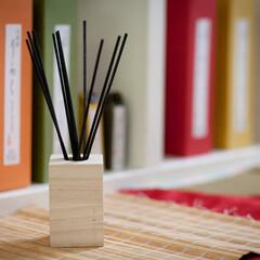 竹彩香 りらく 沈香 / りらく(部屋用)を使ったクチコミ「竹彩香 りらく ――置くだけで和の香りを…」