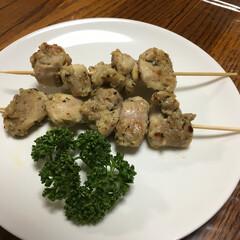 トルコ料理/ケバブ/我が家のテーブル トルコ料理のシシケバブを作ってみました!