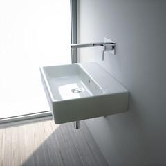 セラトレーディング/シンプル/洗面ボウル/空間/住まい/住宅/... 無駄をそぎ落としたシンプルな洗面ボウルは…