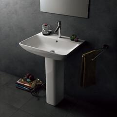 セラトレーディング/ボウル/洗面ボウル/インテリア/シンプル/バスルーム/... ミニマルなデザインの洗面ボウルは、 どん…