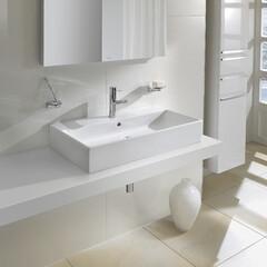 セラトレーディング/バスルーム/お風呂/洗面/洗面器/洗面ボウル/... 食卓を彩るように、洗面空間も美しく。 テ…