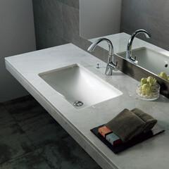 セラトレーディング/カウンター/洗面/洗面ボウル/水回り/インテリア家具/... アンダーカウンタータイプの洗面ボウルは …