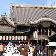 神社/おでかけ 厄除けで有名な 大阪市住吉区の あびこ観…